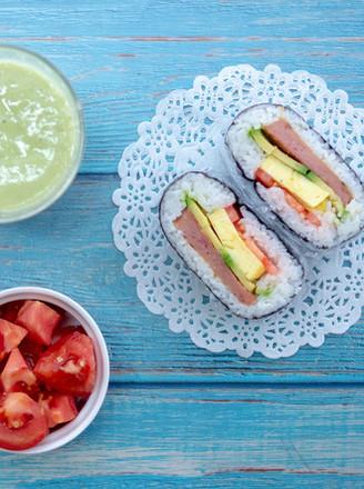 饭团三明治【初味日记】的做法