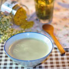 荷桂茶豆浆