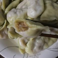 白萝卜猪肉馅饺子