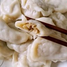 韭黄猪肉馅饺子