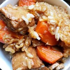 排骨胡萝卜焖饭