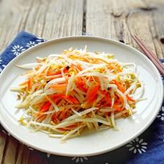清炒绿豆菜