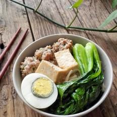 豆腐肉丸面(火锅版)