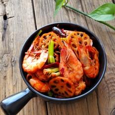 麻辣干锅虾