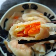 胡萝卜鸡蛋馅水饺