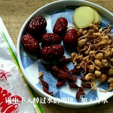 虫草菌菇鸡汤