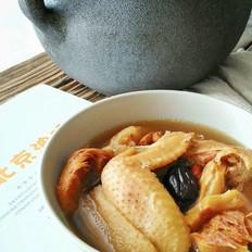 虫草猴头菇鸡汤