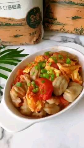 西红柿莜面螺壳的做法