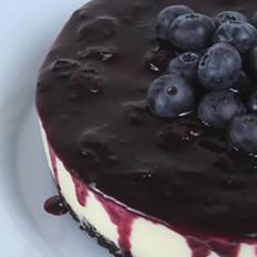 6寸蓝莓奶冻芝士蛋糕