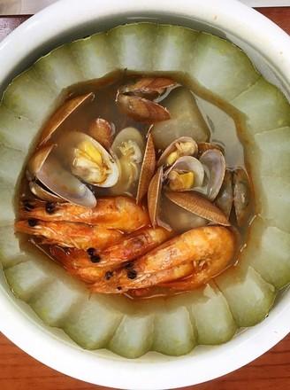 粵式海鮮冬瓜盅的做法