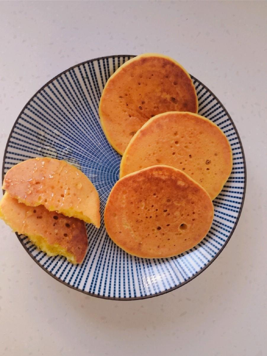 奶香玉米松饼