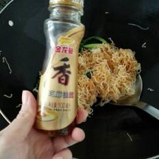青菜香菇炒米丝