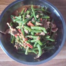 西红柿豆角炒肉
