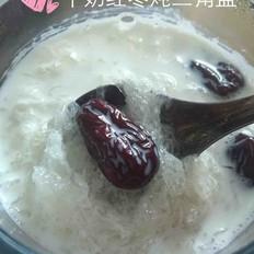 牛奶红枣炖燕窝