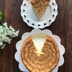 面包机版戚风拉花蛋糕
