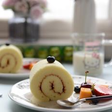 糖尿病人都可以吃的蛋糕——木糖醇原味蛋糕卷