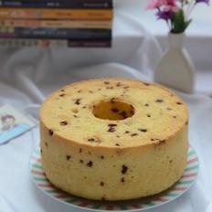 蔓越莓淡奶油戚风蛋糕