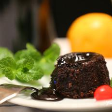 无法抵挡的诱惑-------巧克力软心蛋糕