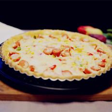 脆皮肠披萨