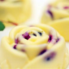 蓝莓轻乳酪蛋糕