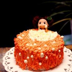 泡澡娃娃蛋糕