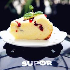 电饭煲版蔓越莓戚风蛋糕