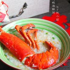 龙虾海鲜粥