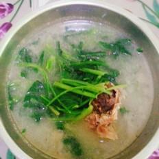 小白菜大骨汤