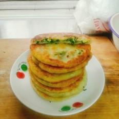 韭菜鸡蛋馅饼