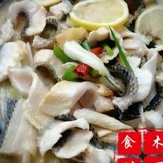 铁锅炖黑鱼