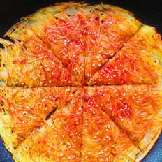 焦脆土豆丝煎饼-土豆传奇