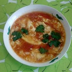 鸡蛋柿子汤