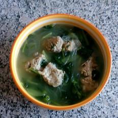 小白菜炖粉条