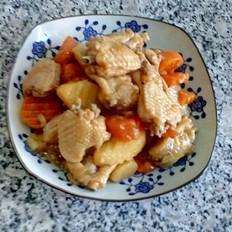 鸡趐炖土豆胡萝卜