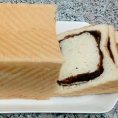 豆沙土司面包