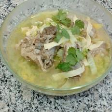 白菜炖干豆腐