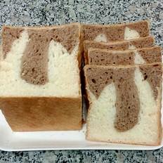 可可牛奶土司面包