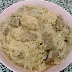 肉炖酸菜粉条