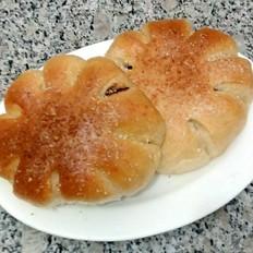 豆沙椰蓉面包