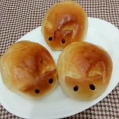 小兔蜜豆包