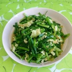 韭菜尖椒炒鸡蛋