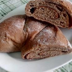 可可软欧面包