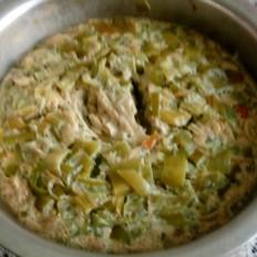 蒸虾皮鸡蛋辣椒焖子的做法大全