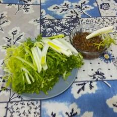 苦菊蘸酱菜
