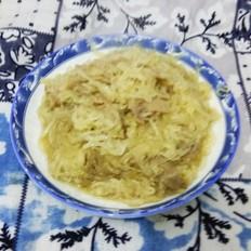 酸菜肉炒粉条
