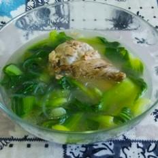 油菜粉条大骨汤