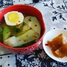 黄瓜面片汤