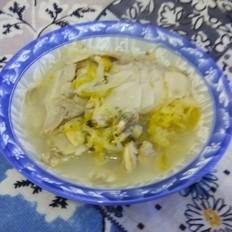 酸菜白肉蚬子汤