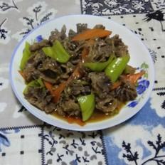 鸡珍炒尖椒