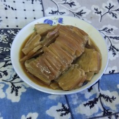 蒸五花肉杏鲍菇